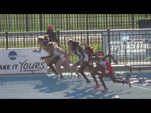 2016 NCAA DII Outdoor T&F Championships  ASU Kami Norton 100m Hurdles