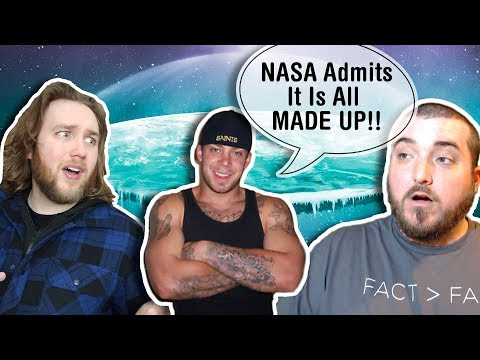 "ODD Reality ""Proves"" the Flat Earth in 5 Minutes (Feat. Godless Engineer) thumbnail"