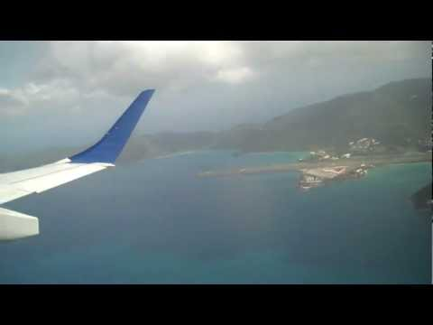 JetBlue departure from Cyril E King Airport St.Thomas V.I. August 2012