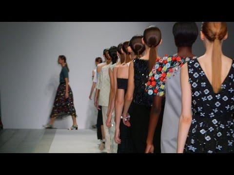 Holly Fulton SS15 at London Fashion Week