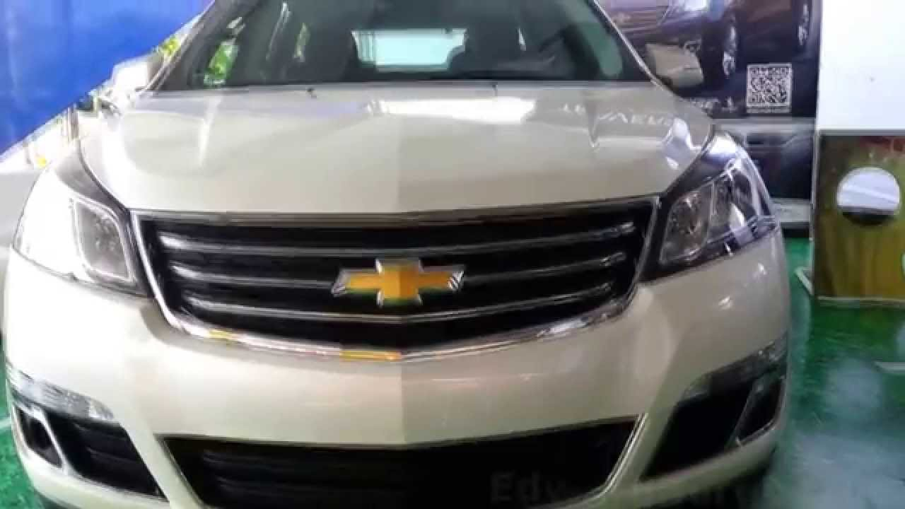 2015 chevrolet traverse lt 2015 al 2016 precio ficha. Black Bedroom Furniture Sets. Home Design Ideas
