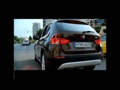 BMW X1 - Тест драйв с Александром Михельсоном - апрель 2010