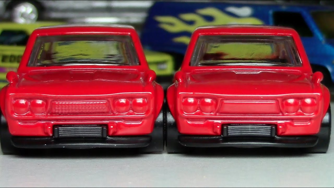 Hot Wheels - Datsun 510 Wagon Grill Variation - YouTube