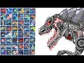 Dino Robot Boss Terminator T-Rex: Assembly + Battlefield + Repair | Eftsei Gaming