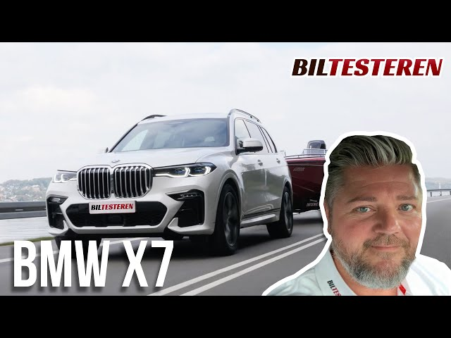 Vulgær eller fed? BMW X7 M40i (test)