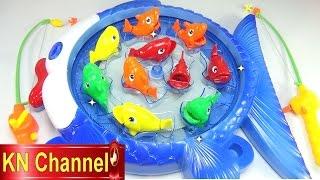 Đồ chơi trẻ em Bé Na câu cá tập 4 Câu cá mập, cá ngừ đại dương Fishing playset Childrens toys