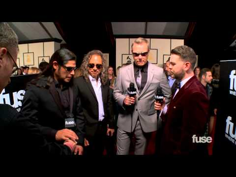 Metallica on Their Classical GRAMMY Performance - GRAMMYs Red Carpet
