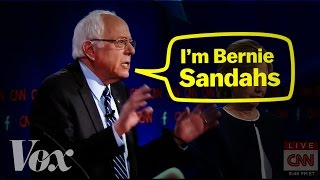 Bernie Sanders' accent, explained Subscribe to our channel! http://goo.gl/0bsAjO This year two major presidential candidates — Bernie Sanders and Donald ...