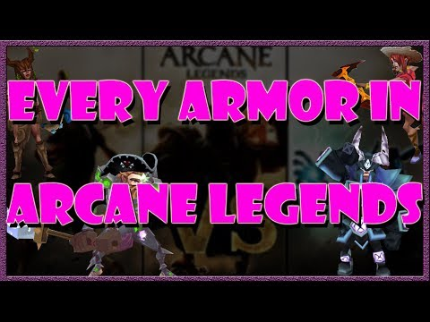 Arcane Legends | EVERY SINGLE ARMOR IN THE GAME!!!