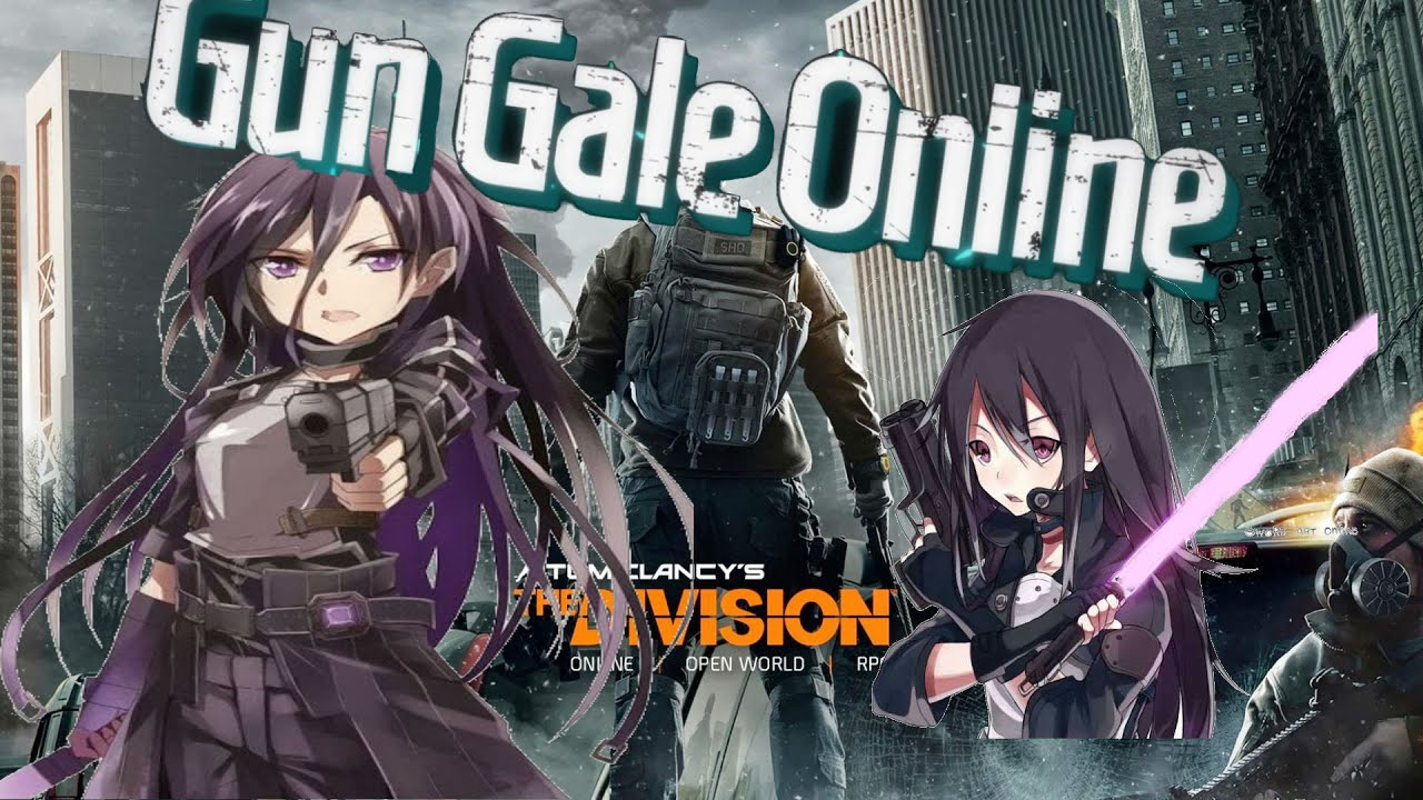 A Real Gun Gale Online Game The Division Youtube