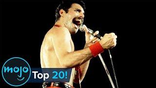 Top 20 Greatest Freddie Mercury Moments Ever