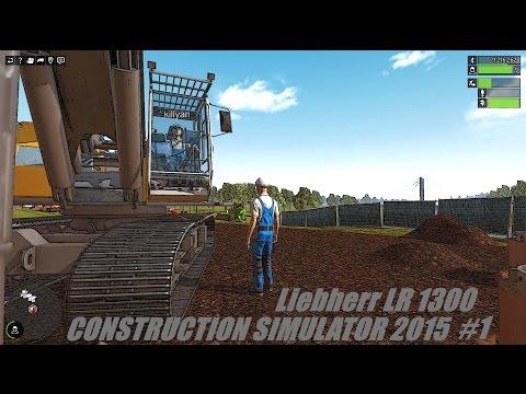 Liebherr LR 1300 Construction Simulator 2015 #1 [Multi] [HD]  