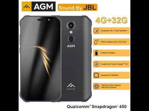 Agm А9 с !!4мя динамиками!! обзор защищенного топового смартфона