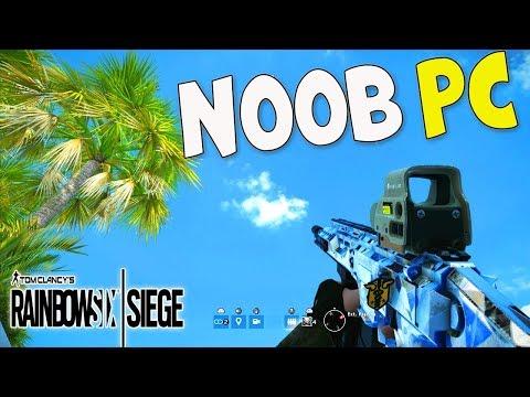 MES DÉBUTS SUR PC ! Rainbow Six Siege FR