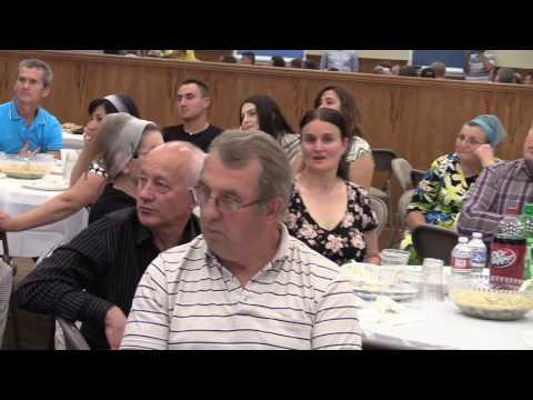 GRPC Fratele Florin de la Radio Micul Samaritean Moldova la Biserica Golgota Portland OR 7-16-2016