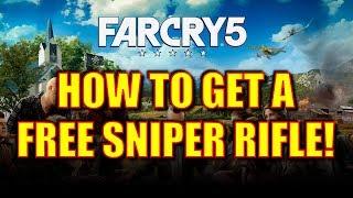 Far Cry 5 Gameplay Walkthrough - How to Get a Free Sniper Rifle (and a Shotgun!)