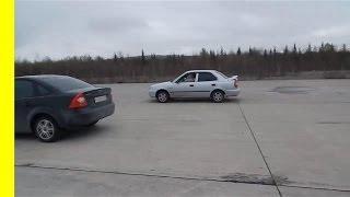 Знакомство с  Hyundai Accent 102 л.с.  Тазы опять не валят!