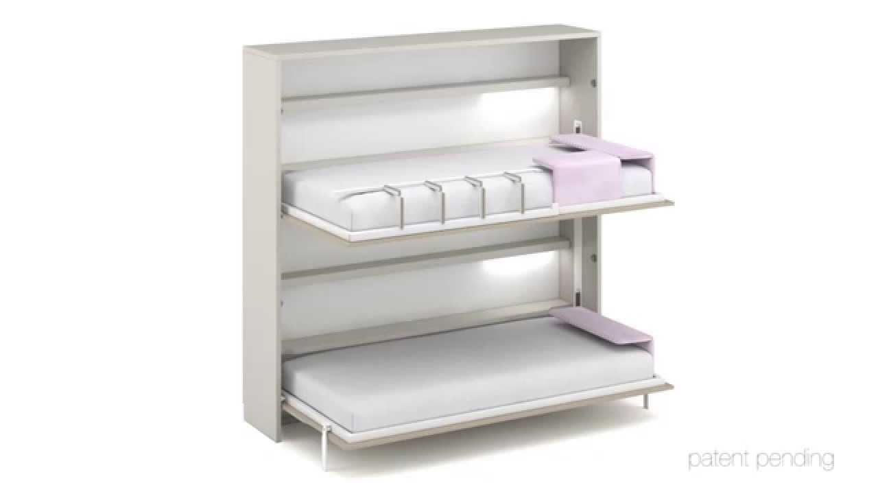 Escalera plegable para camas abatibles horizontales tetris - Como hacer una cama abatible ...