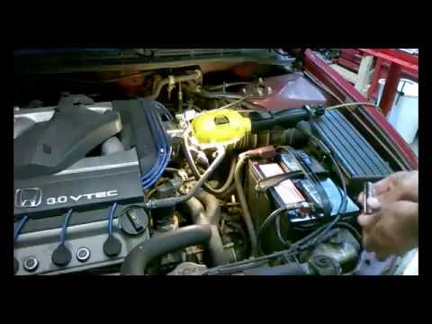 Accord V6 starter replacement
