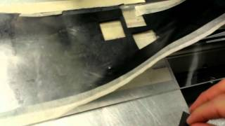 Fiber cutting Graphite foil