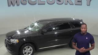 A98753CT  Used 2013 Dodge Durango Black SUV Test Drive, Review, For Sale -