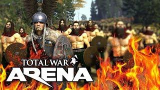Total War ARENA 🔥 ЛЕСНЫЕ ВАРВАРЫ ВЕРЦИНГЕТОРИГА
