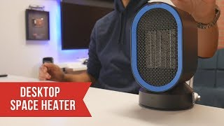 AIVANT: Desktop Electric Space Heater - I needed this!