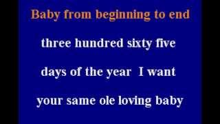 Anita Baker - Same Ole Love - Karaoke