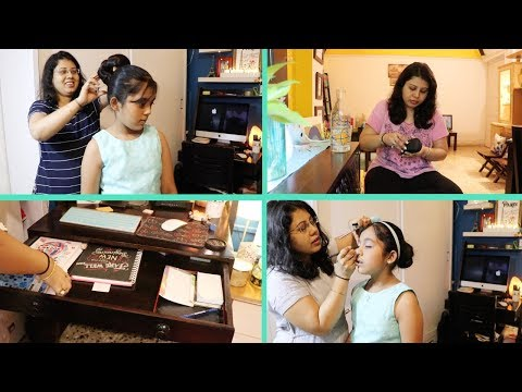 Making My Daughter Ready For Birthday Party ! Sunday Special Lunch to Dinner Routine | Maitreyee