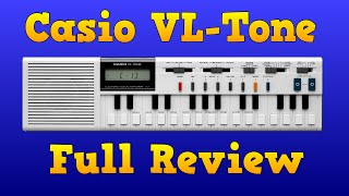 Casio VL-TONE VL-1 Full  Review