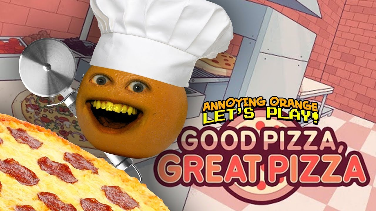 Good Pizza Great Pizza! [Annoying Orange Plays]