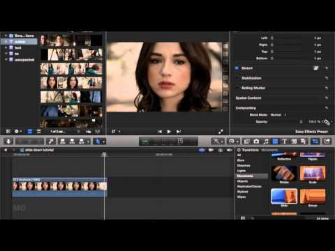 FCP Slide Transition Tutorial
