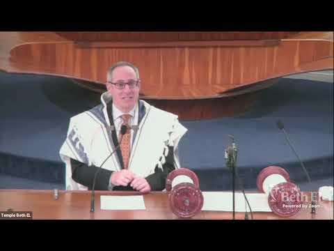 Shabbat Wisdom with Rabbi Dan Levin: March 12, 2021