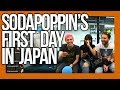 Sodapoppin's First Day in Japan with Reckful! part 1 - Naruto Run, Shopping, Wasabi ++