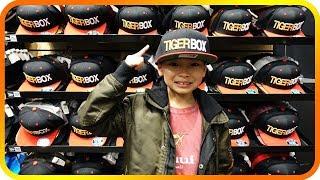 Picking Up Custom TIGERBOX Hats, Kids Shopping Mall - TigerBox HD