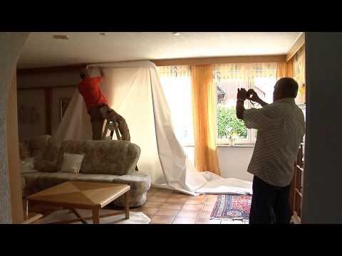 Тканевые потолки DESCOR--ЭТО ПРОСТО!