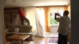Тканевые потолки DESCOR--ЭТО ПРОСТО!(Установка тканевого натяжного потолка Descor в загородном доме., 2015-05-23T09:47:43.000Z)
