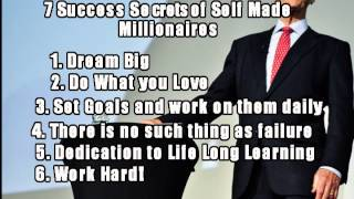 Brian Tracy Self Confidence: Seven Success Secrets of Self Made Millionaires No Excuses!
