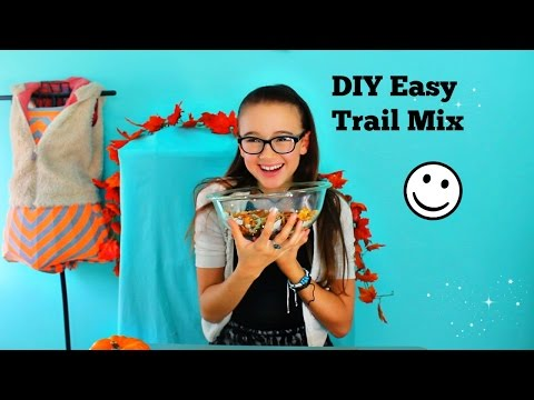 Easy to, All Natural Nuts, Seeds and Dried Fruit Trail Mix | Make it Fancy | Fiona Frills