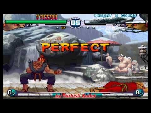 Street Fighter III: 2nd Impact - Giant Attack (Arcade) - (Longplay - Akuma | Hard Difficulty)