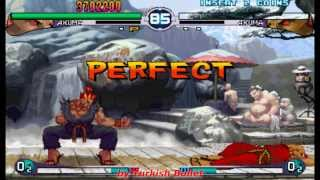 Street Fighter III: 2nd Impact - Giant Attack (Arcade) - (Akuma | Hard Difficulty)