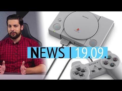Mini-Konsole PlayStation Classic angekündigt - Dead-Rising-Entwickler macht dicht - News