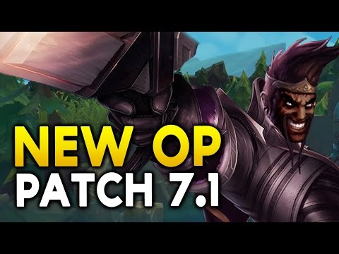 RETURN OF DRAVEN? NEW OP CHAMPS IN 7.1 - Champs to watch / Nerfs / Buffs (League of Legends)