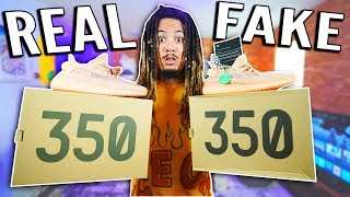 FAKE YEEZYS EXPOSED IN 2019 !!! REAL VS FAKE YEEZYS ARE IDENTICAL !!!