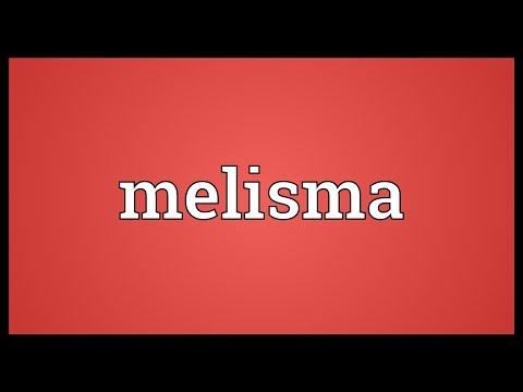 Melisma Meaning