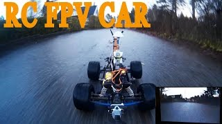 Traxxas RC Car Stampede FPV In Neighbourhood (How To FPV From Inside The House) - RCLifeOn