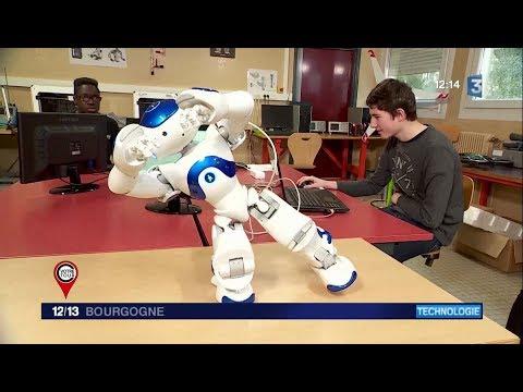 C'est votre Tour - Nao, le robot intelligent, au coeur d'un lycée de Louhans