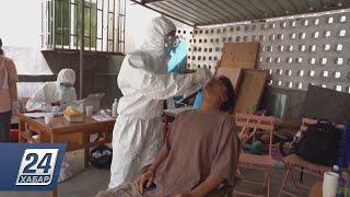 Население Жуйли массово тестируют на коронавирус