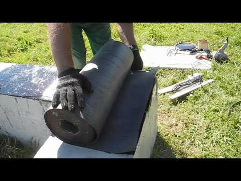 Делаем отсечную гидроизоляцию фундамента