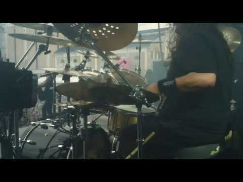 Pearl Artist Gene Hoglan - True American Hate Drum Cam @ Tuska Open Air Metal Festival 2013
